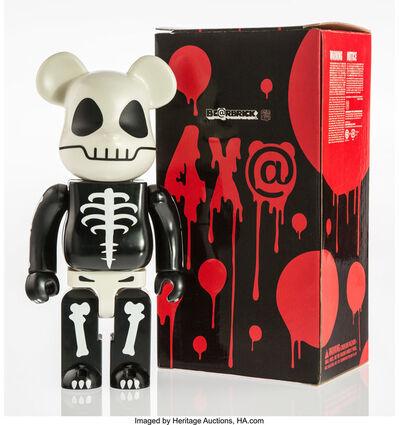 BE@RBRICK, 'Horror Skull 400%', 2005