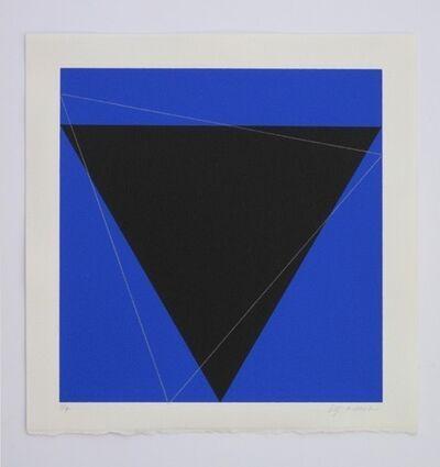 Cris Gianakos, 'Two Deltas', 1990