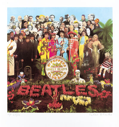 Peter Blake, 'Sgt Pepper', 2012