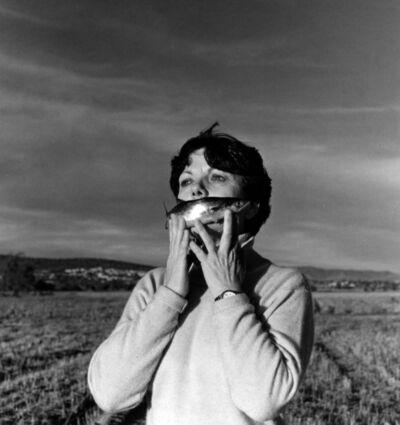 Graciela Iturbide, 'Autorretrato en el Campo, Pachuca, México', 1996