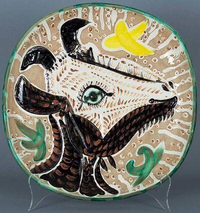 Pablo Picasso, 'Tete de chevre de profil (Goat's Head in Profile)', 1952