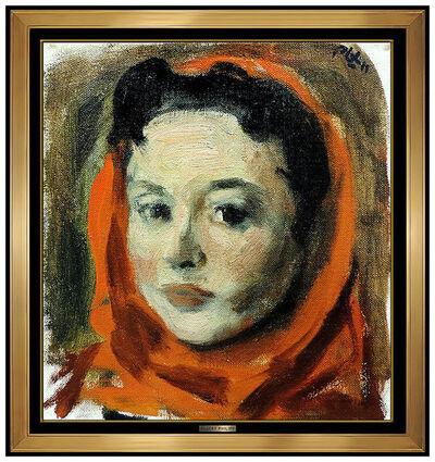 Robert Philipp, 'Scarlett Headscarf', 20th Century