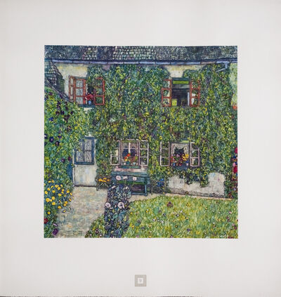 Gustav Klimt, 'House in a Garden [Gustav Klimt An Aftermath]', 1931