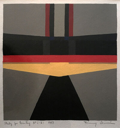 Fanny Sanin, 'Study for a Painting 2 (6)', 1997