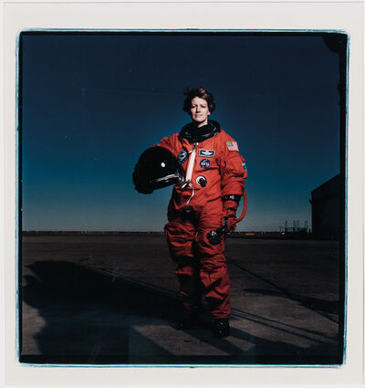 Annie Leibovitz, 'Eileen Collins, Johnson Space Center, Houston'
