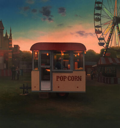 Scott Prior, 'Popcorn Stand at Twilight', 2017