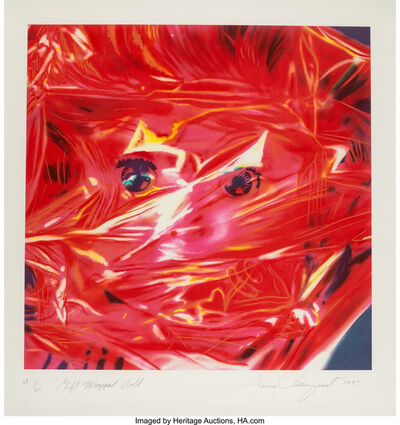 James Rosenquist, 'Gift Wrapped Doll', 1993