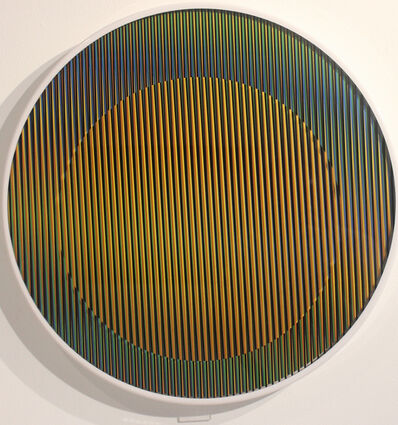 Carlos Cruz-Diez, 'Chromointerference Manipulable Circulaire B - Edition of 75', 2013