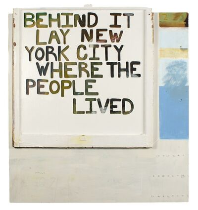 Kenny Rivero, 'Where the People Lived', 2011