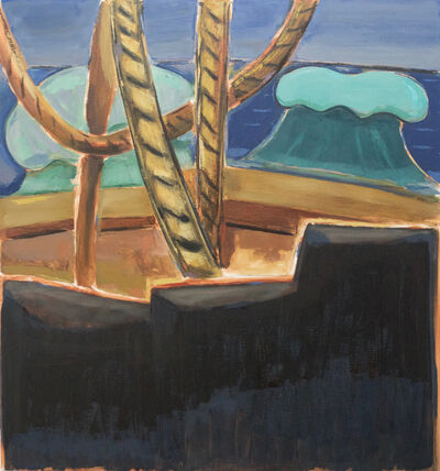 Enrico Riley, 'Untitled: Castaway, View from the Deck of the Aurore', 2018