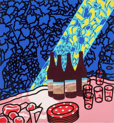 Patrick Caulfield, 'Picnic Set', 1978