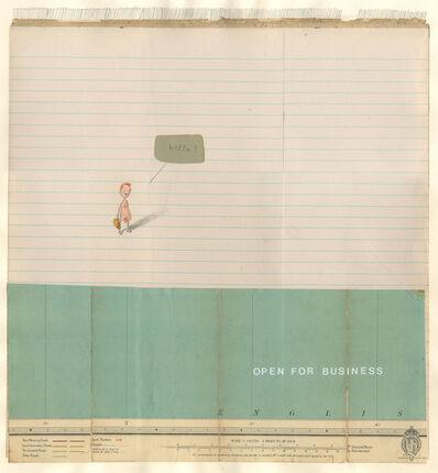 Oliver Jeffers, 'Helvetica Hello', 2007