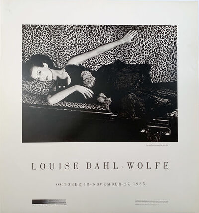 Louise Dahl-Wolfe, 'Louise Dahl Wolfe Mary Jane Russell on Leopard Sofa, Paris, 1951, Continuous Tone (No Dots) Lithographic Poster', 1985