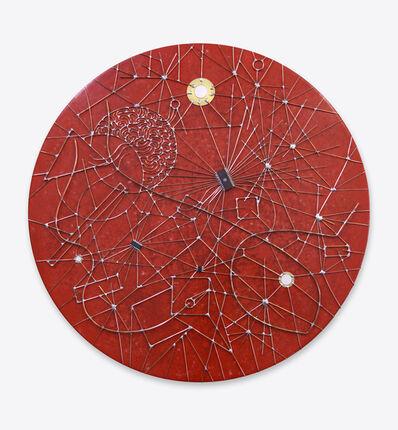 Leonardo Ulian, 'Microchip synapses #25 - Conjunction', 2015