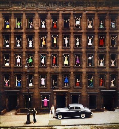Ormond Gigli, 'Girls in Windows, New York', 1960