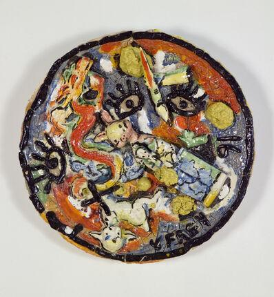 Viola Frey, 'Untitled Plate 6', 1991