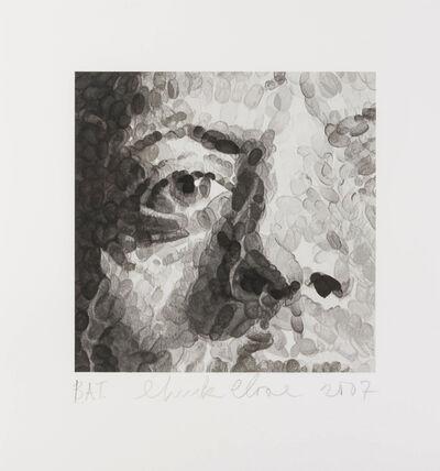 Chuck Close, 'Untitled (Phil detail)', 2007