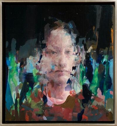 Alex Kanevsky, 'M.H. in the Garden', 2020