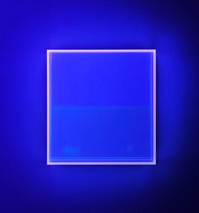 Regine Schumann, 'Colormirror rainbow soft pink-blu Amsterdam', 2018