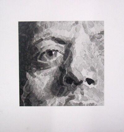 Chuck Close, 'Phil (detail)', 2007