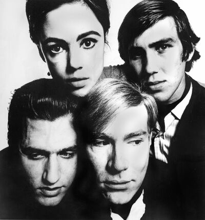 David Bailey, 'Andy Warhol and the Gang', 1965