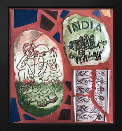 Isaiah Zagar, 'India ', 2018