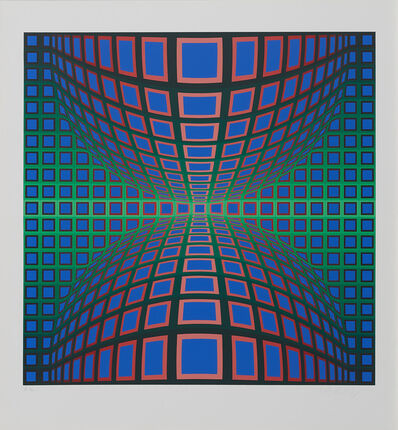 Victor Vasarely, 'Untitled', 1970-1980