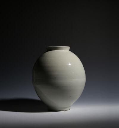 Unknown Korean, 'A Moon Jar, Korea, Late Chosŏn (Joseon) Dynasty', Late 18th – Early 19th Century