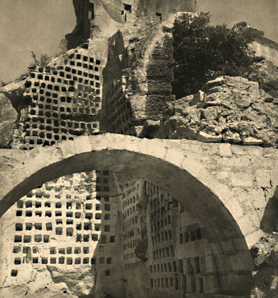 Laure Albin-Guillot, 'The Fortress at Les-Baux-de-Provence', 1930s/1930s