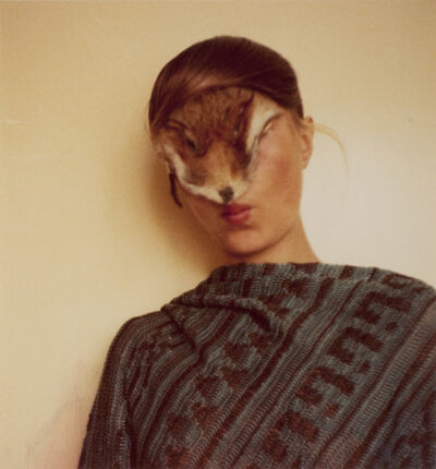 Birgit Jürgenssen, 'No Title (Self with Fur)', 1974-1977