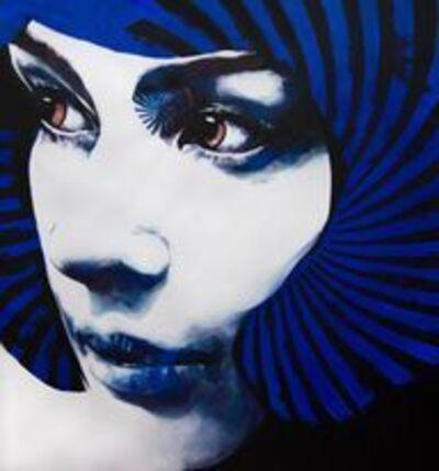 Luis Bivar, 'Spiral Face #2', 2021
