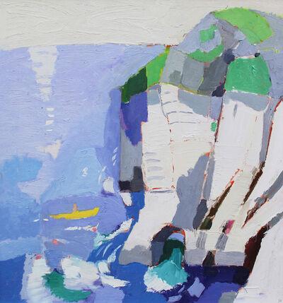 Julian Bailey, 'Canoeist off Lulworth', 2019