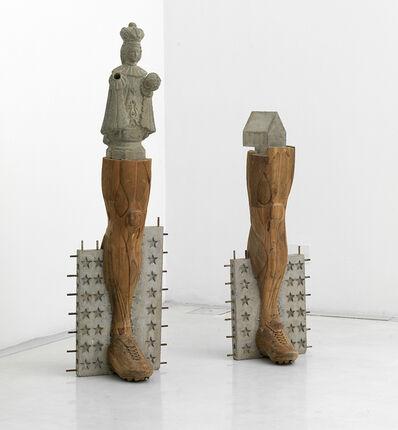 Riyas Komu, 'Benevolent grass', 2010