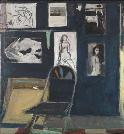 Richard Diebenkorn, 'Studio Wall', 1963