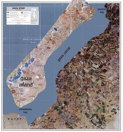 Tamir Zadok, 'Gaza Canal', 2010
