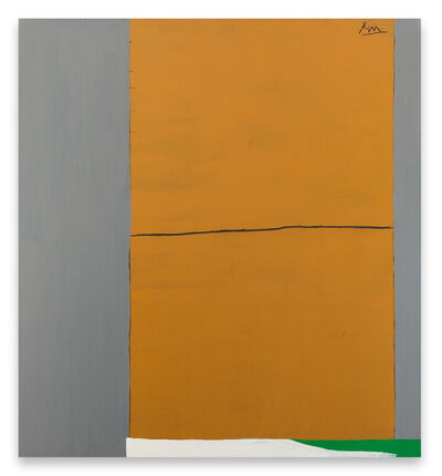 Robert Motherwell, 'Open No. 2: In Ochre and Grey', 1967/ca. 1971