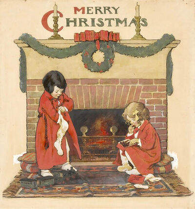 JESSIE WILLCOX SMITH, 'Merry Christmas', 20th Century