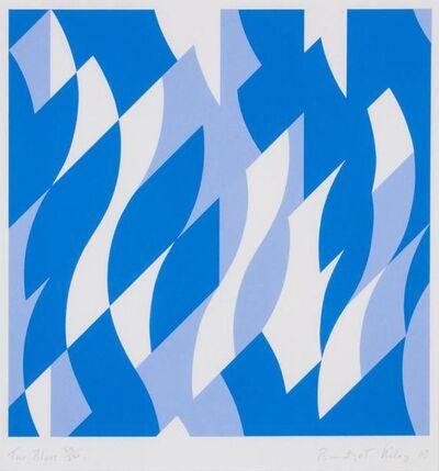 Bridget Riley, 'Two Blues', 2003