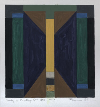 Fanny Sanin, 'Study for Painting No. 3 (10), 2006', 2006