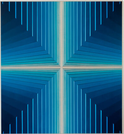 Daniel Mullen, 'Untitled (electric blue), (Future Monuments 013)', 2020