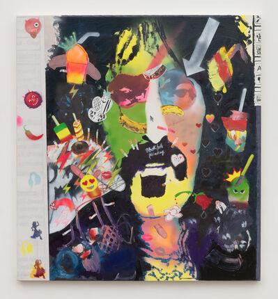 Alessandro Pessoli, 'Black hole painting', 2018