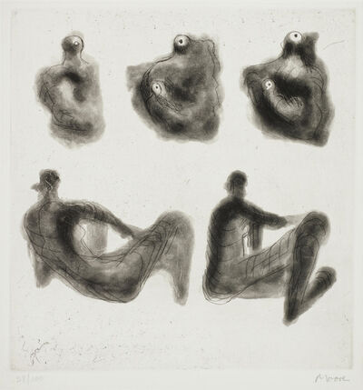 Henry Moore, 'The Carnal Mysticity by René Crevel', 1976
