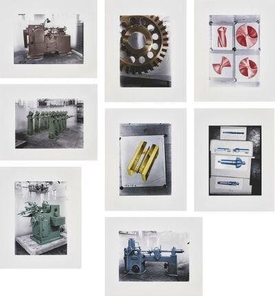 Thomas Ruff, 'Maschinen (Machines) - The complete set of eight photographs', 2005