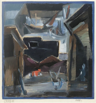 Werner Drewes, 'Hamburg Coal Yard', 1955