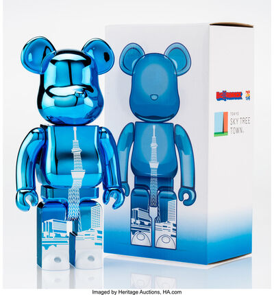 BE@RBRICK, 'Tokyo Skytree Town 400% (Blue)', 2015