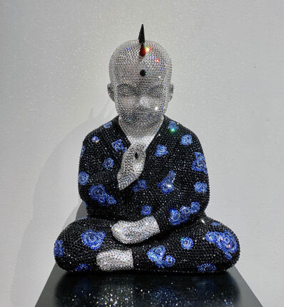 Metis Atash, 'Punk Buddha Obsession V In Blue feat. Hirst for McQueen', 2018