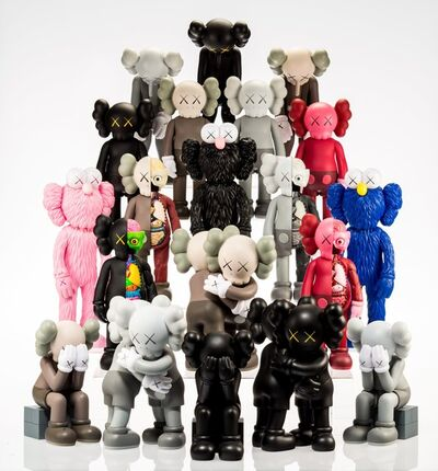KAWS, 'Set of 16 Kaws Dolls', 2016-18