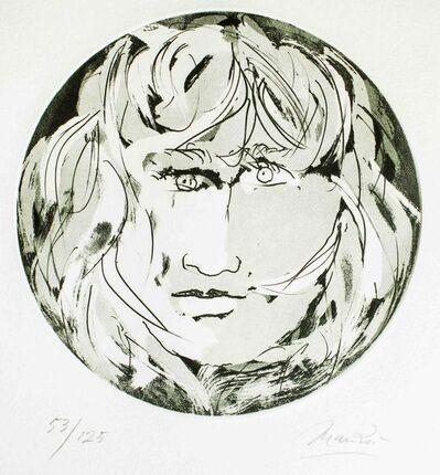 Giacomo Manzù, ' Round Medusa', 1970
