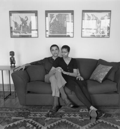 Mariana Cook, 'Barack and Michelle Obama, Chicago, Illinois, 26 May 1996'