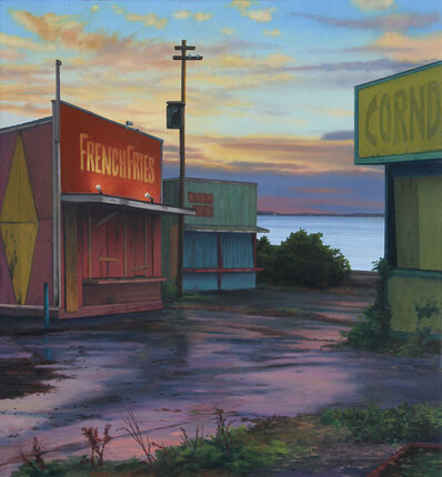 Scott Prior, 'Closed Food Stands Off Season', 2019